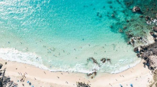 The seashore in Kailua-Kona